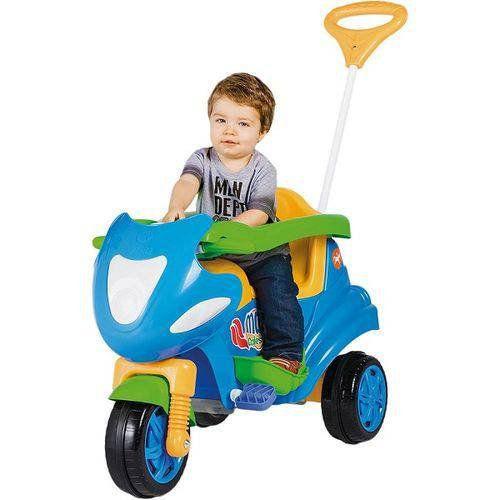 Veículo Triciclo Max Calesita Azul