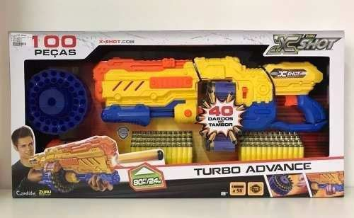 X-Shot Turbo Advance 96 Dardos Candide