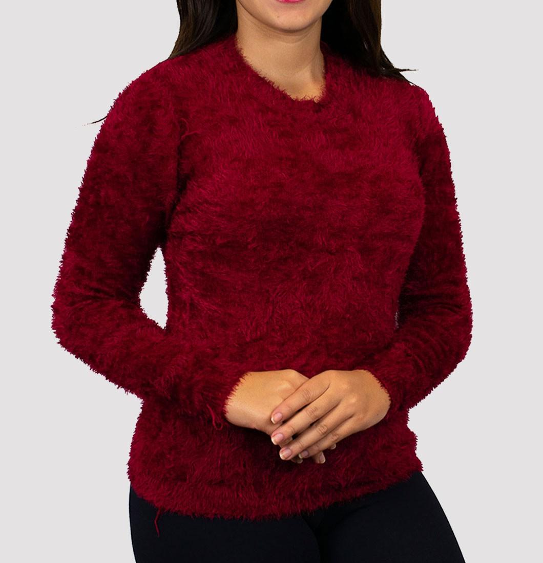 Blusa De Frio Feminina de Lã