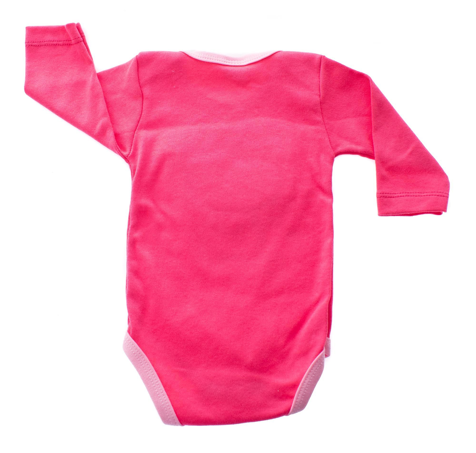 Kit Body Bebê com Turbante Rosa