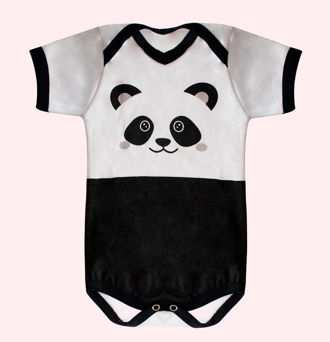 Body De Bebê Infantil Pandinha