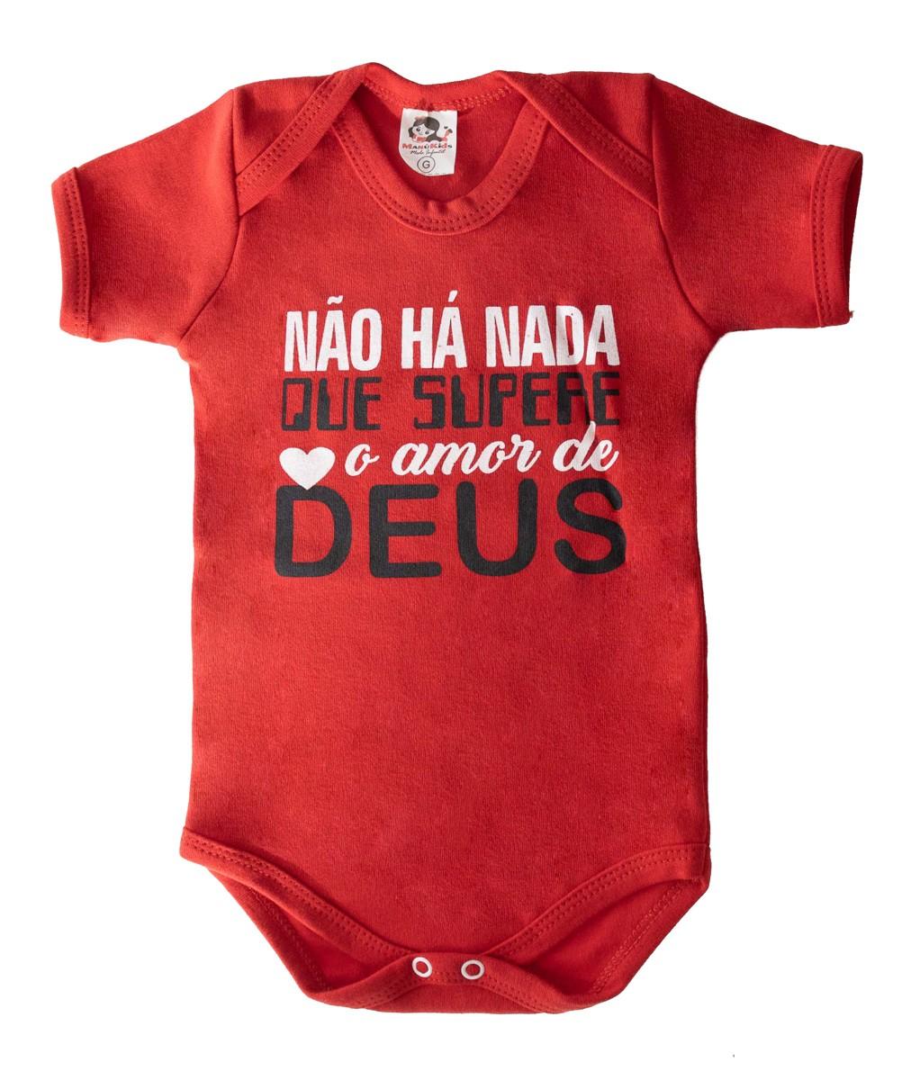 Body Infantil Amor de Deus