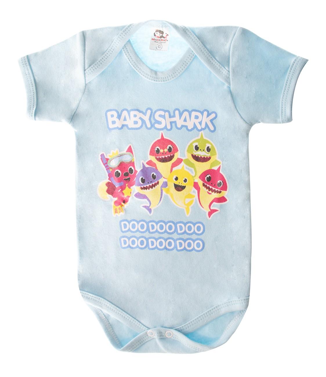 Body De Bebê Baby Shark