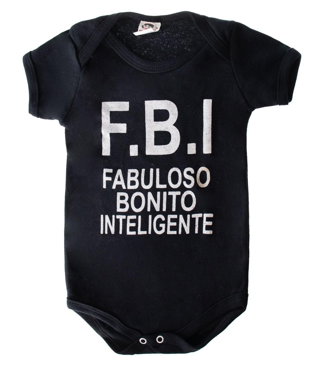 Body Infantil F.b.i