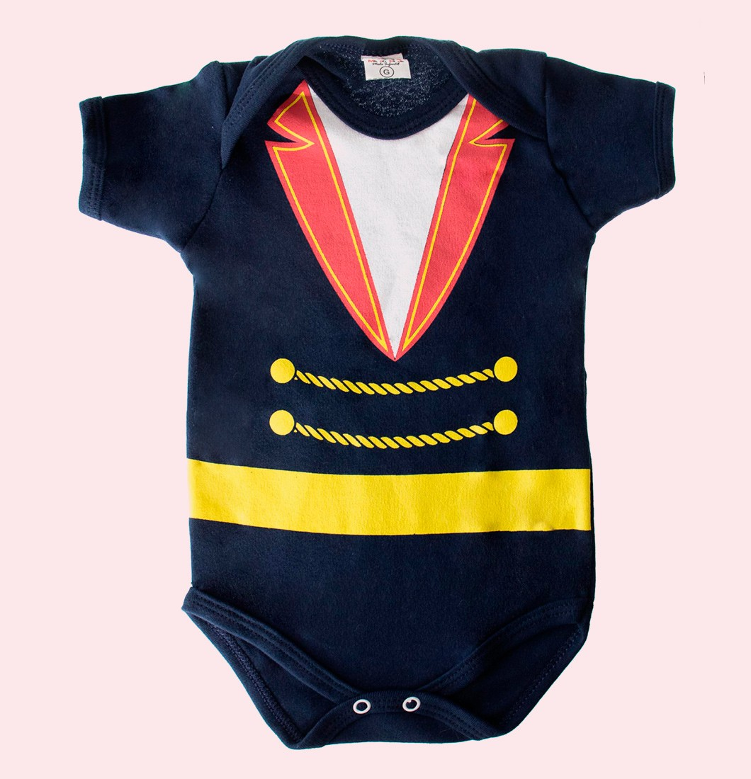 Body Infantil Pequeno Principe