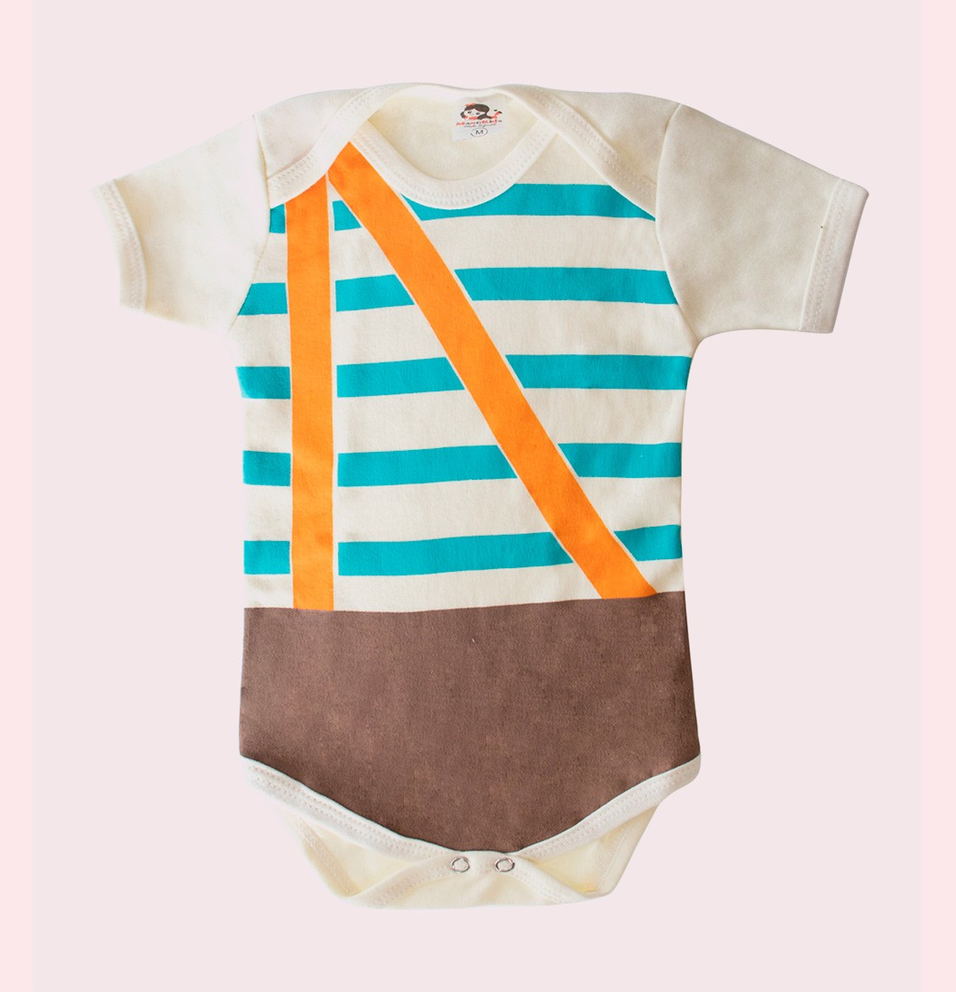Body Infantil Personagem Chaves