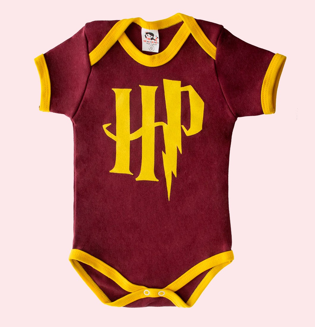 Body Infantil Personagem Harry Potter