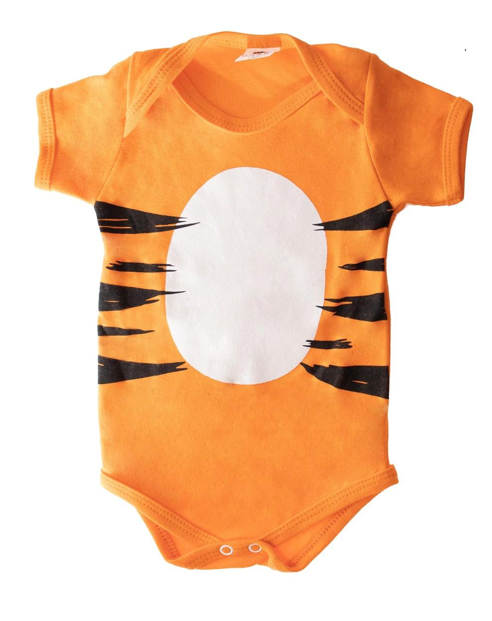 Body infantil Personagem Tigrão