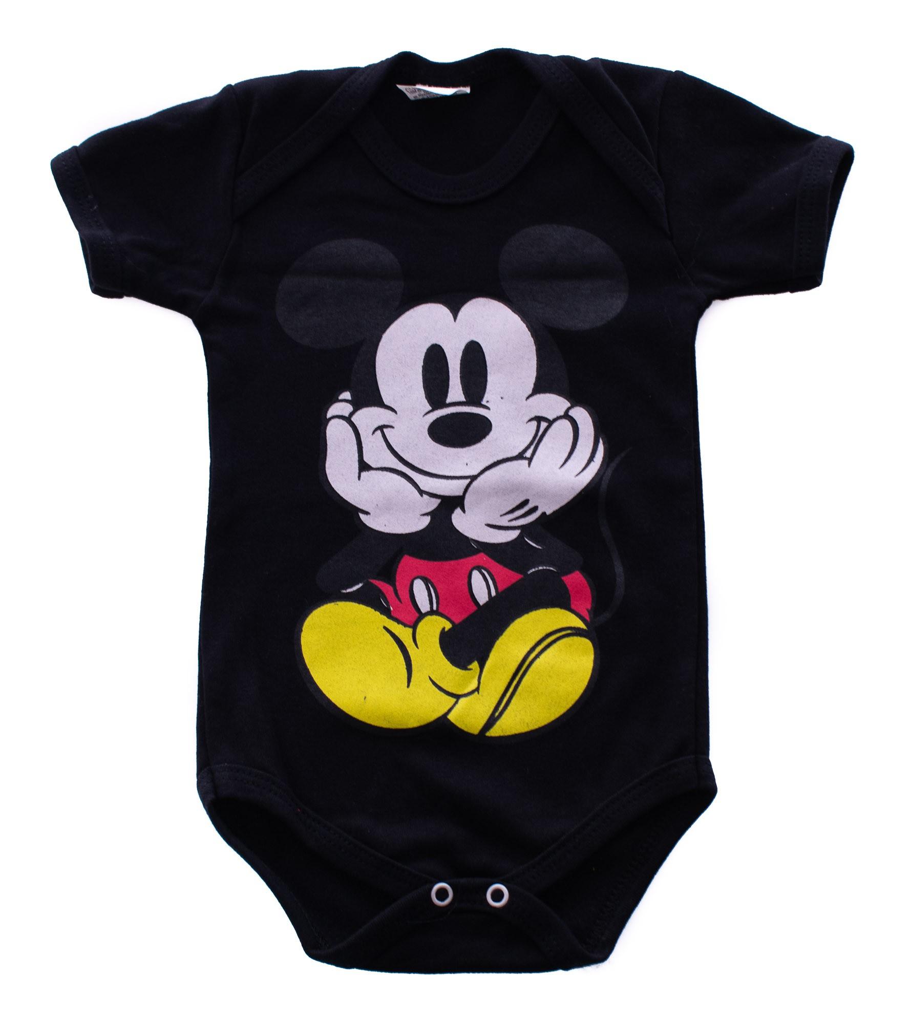 Body De Bebê Mickey