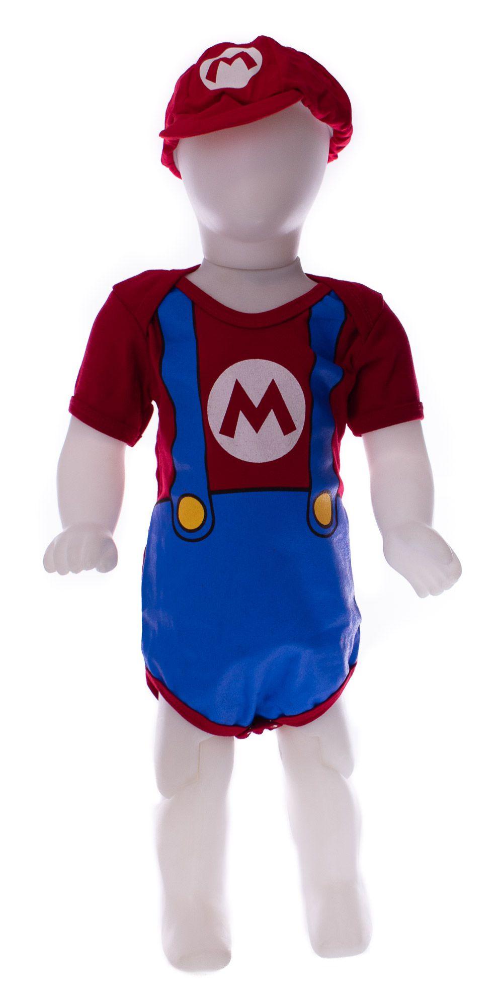 Body Personagem Super Mario com Boina