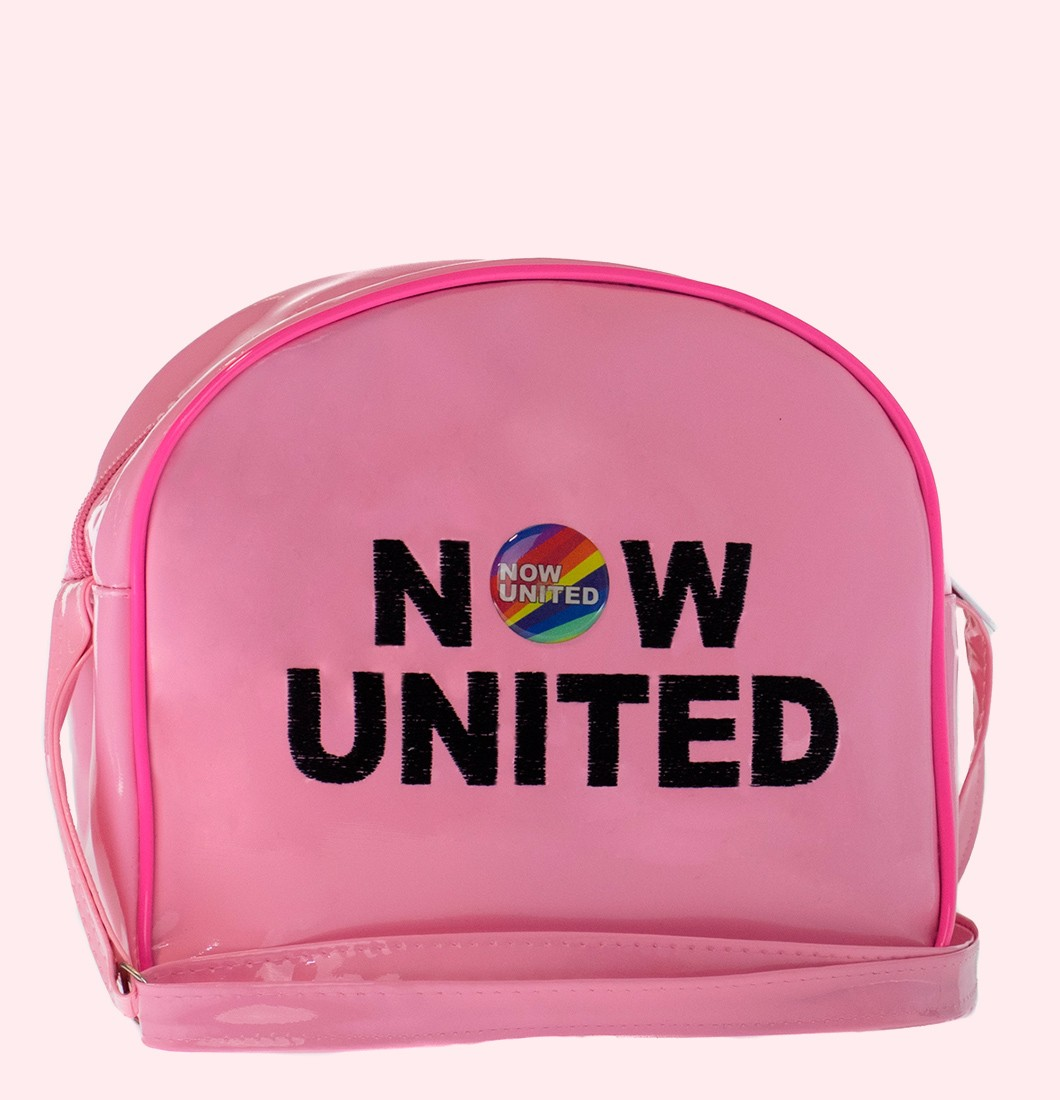Bolsa Infantil Lateral Bordado Now United