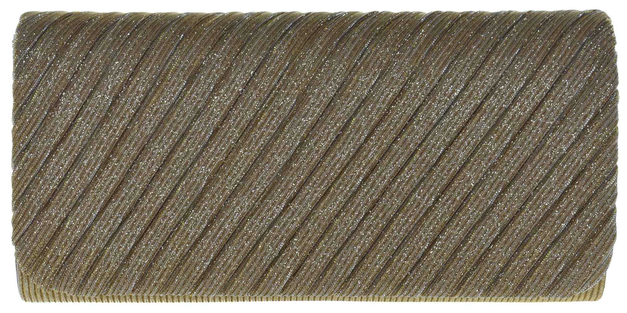 Carteira Clutch Glitter e Textura