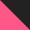 preto e rosa escuro