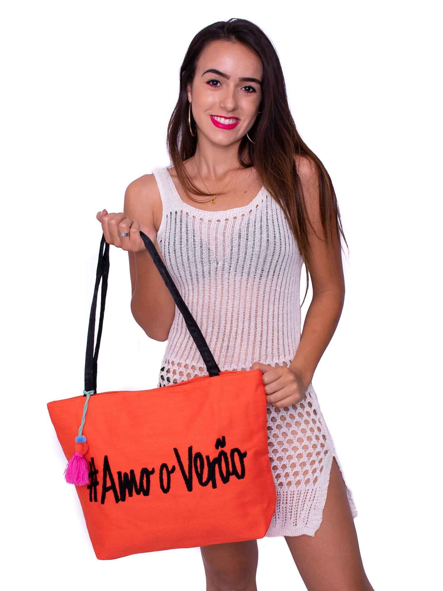 Kit Bolsa de ombro e Saida de Praia