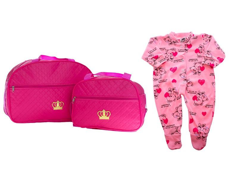 Kit Saida Maternidade Personalizada