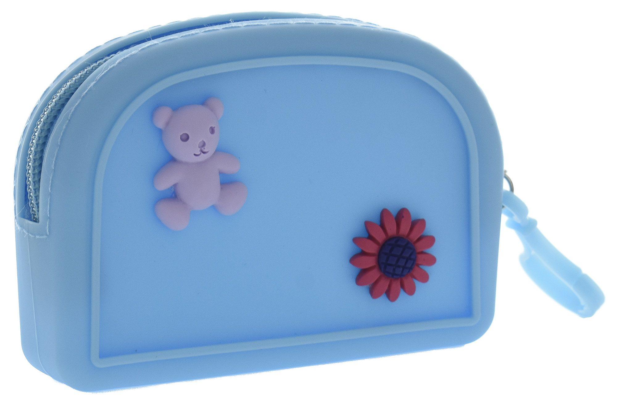 Porta Moedas Silicone Infantil