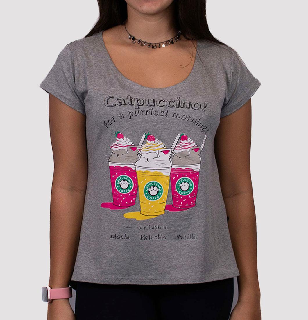 T Shirt Feminina com Estampa