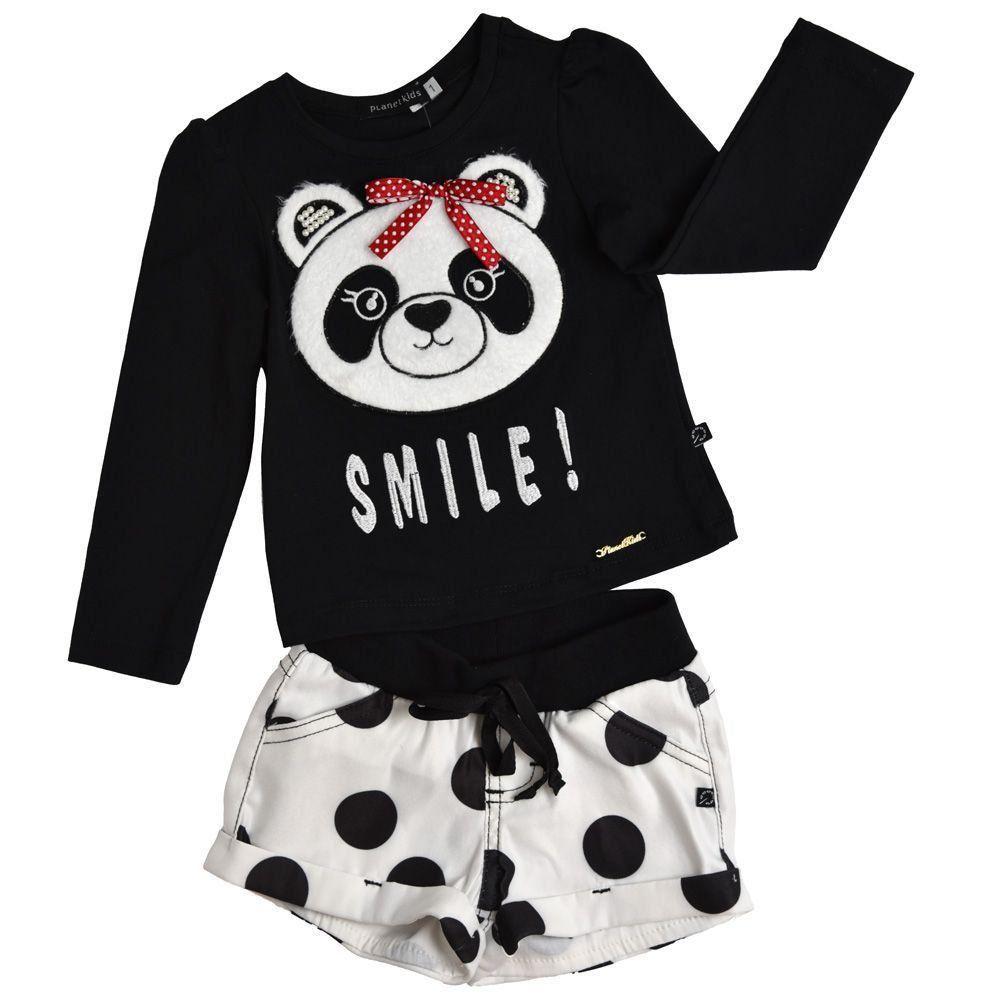 2e1df16e93bb Conjunto panda smile - Planet Kids - Tucci Store | Moda Infantil e ...