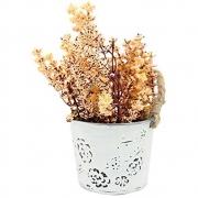Arranjo Art.Vaso Metal Flor Mix Yangzi