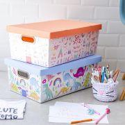 Caixa Organizadora Crianca Feliz 52X32X19,7Cm 2213.02