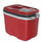 Caixa Térmica Cooler de 32L Vermelha - Termolar