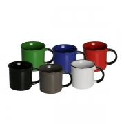 Caneca porcelana ágata cores sortidas 180Ml Lyor 8555