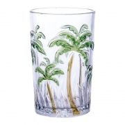 Copos Para Água Palm Tree Color 350ml - Class Home