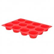 Forma para Mini Bolinhos 12 Divisões em Silicone - Uny Home