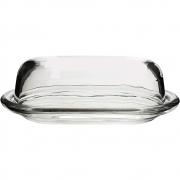 Manteigueira Com Tampa Basic Em Vidro Transparente - Full Fit
