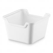 Organizador De Gaveta 85X85 Branco Solido De Plastico - Issam