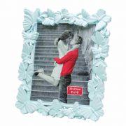 Porta Retrato De Plastico Fly Azul Clã 20X25Cm - Lyor