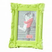Porta Retrato Retro Verde 10X15Cm - Lyor