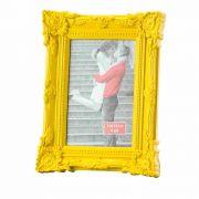 Porta Retrato Retro Amarelo 13X18cm - Lyor