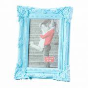 Porta Retrato Retro Azul 13X18Cm - Lyor