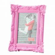 Porta Retrato Retro Rosa 10X15Cm - Lyor