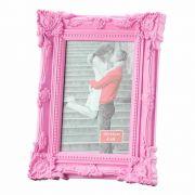 Porta Retrato Retro De Plast Rosa 13X18Cm 3049 Lyor