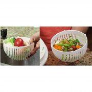 Pote Plastico P/ Fatiar Salada 21,5X6X7Cm Ud190704