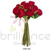 Rosa Botão Vermelho Cf002Vm