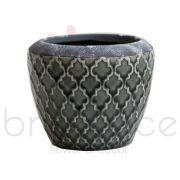 Vaso Cerâmica 12X16Cm Blc306Cz