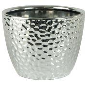 Vaso Cerâmica Prata 14Cm 25994001