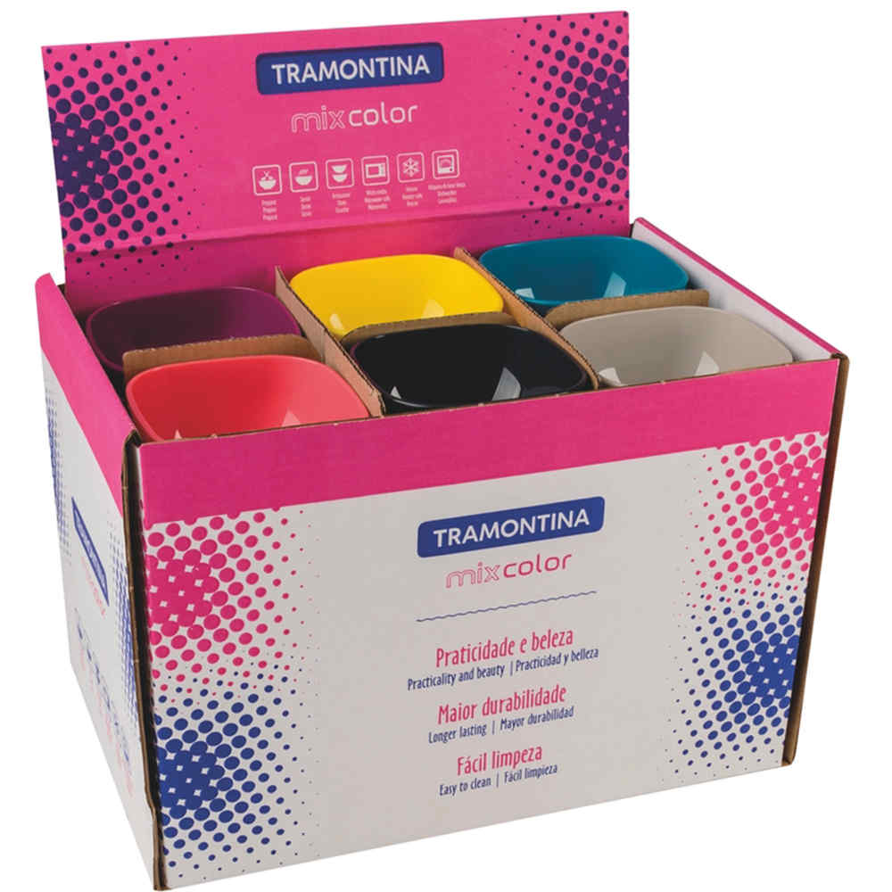 Bowls Mix Color 25099970 Tramontina