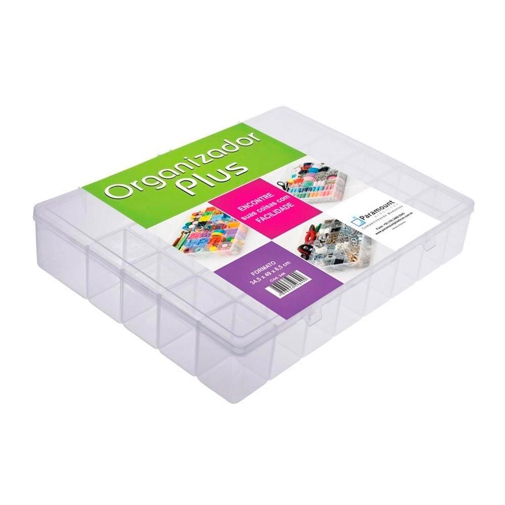 Box Organizador Tamanho Plus com 34 Divisórias - Paramount