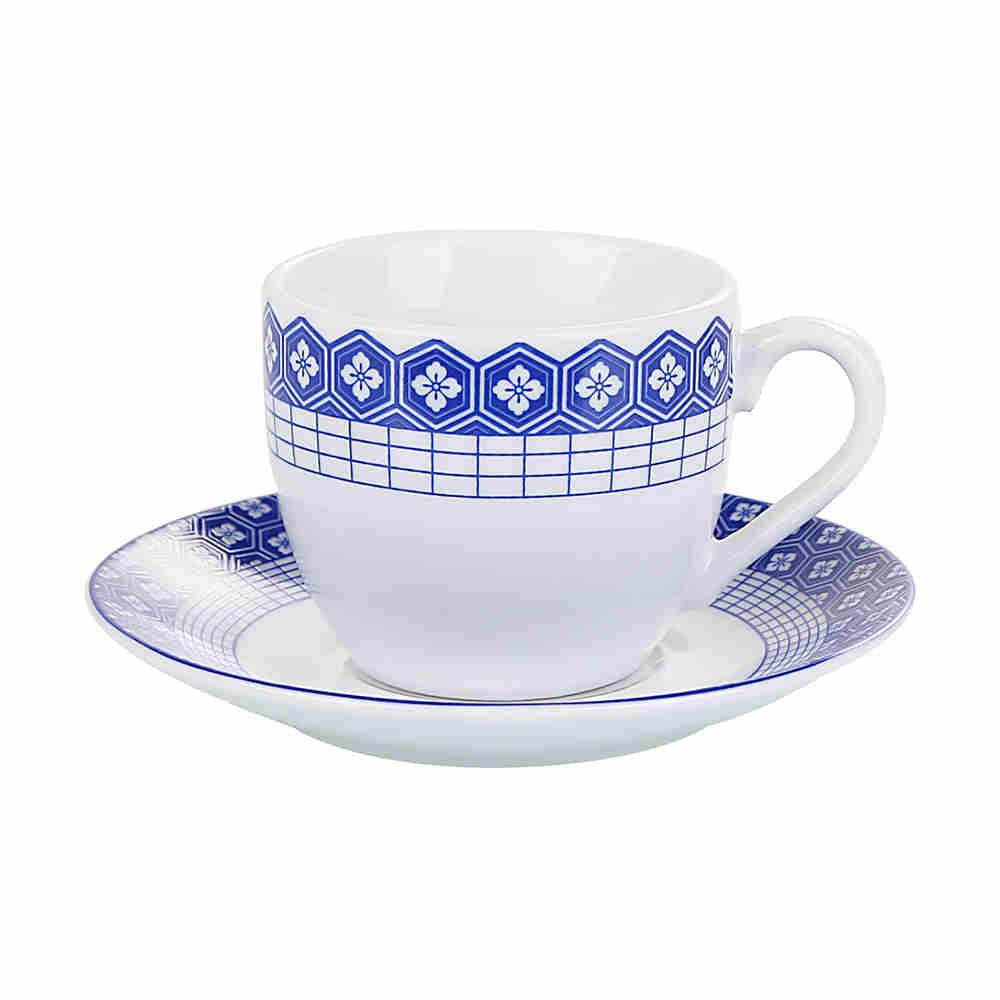 Cj 6 Xicara Café Porcel 90Ml 2161 Lyor