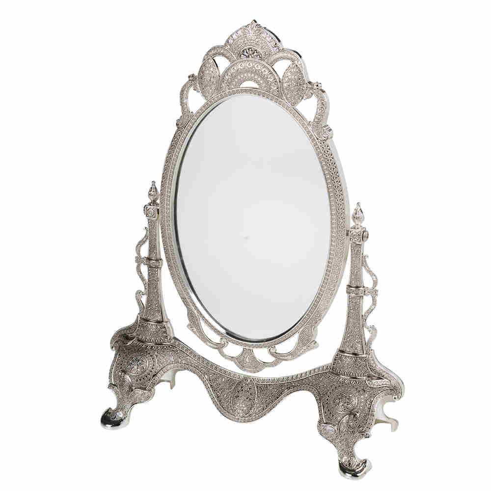 Espelho De Vidro C Mold De Zmc Marrocos 30Cm 3509 Lyor