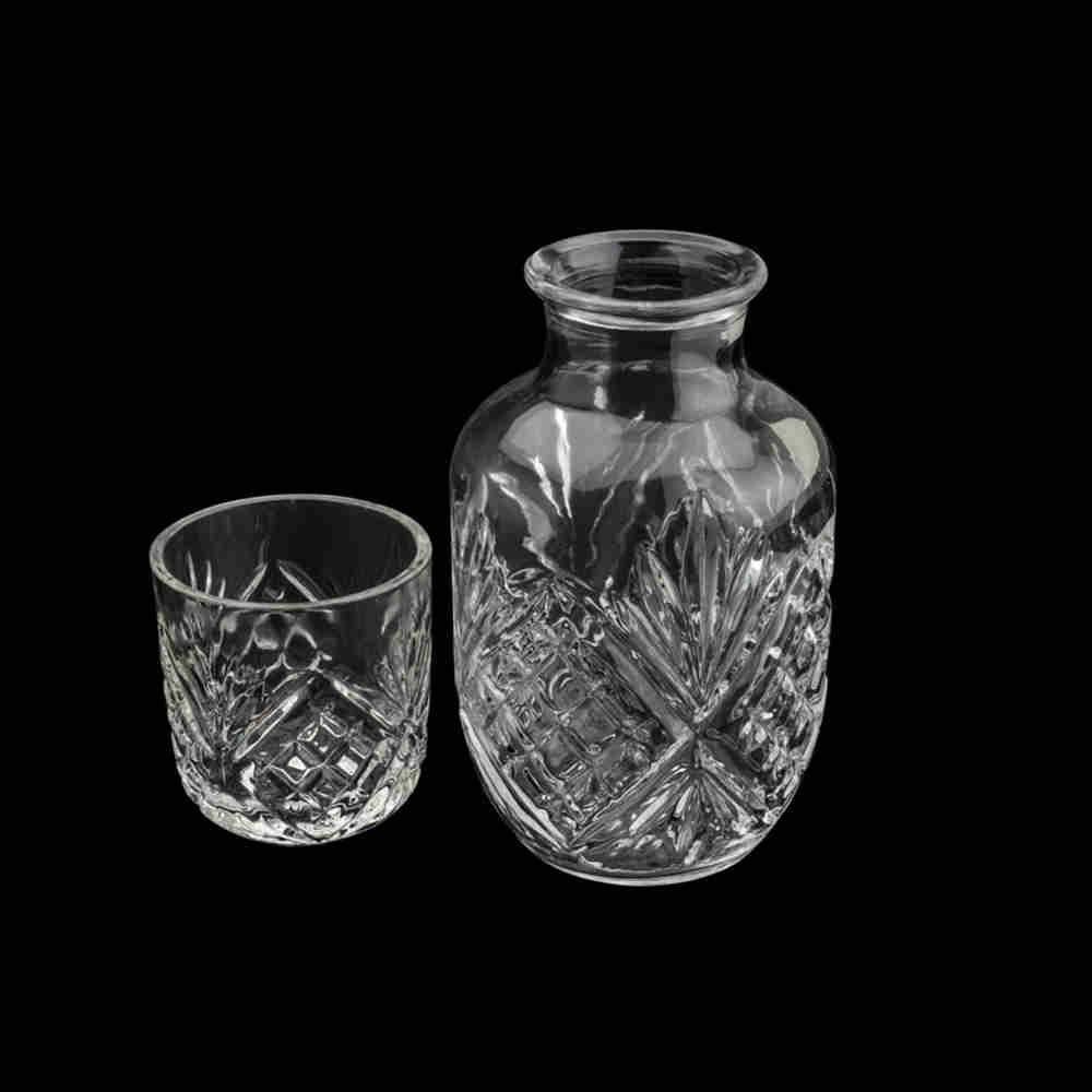 Moringa Vidro com copo Dublin  - Lyor