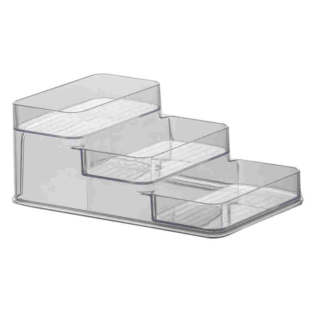 Organizador Diamond Triplo Cristal 26X16X10Cm Paramount