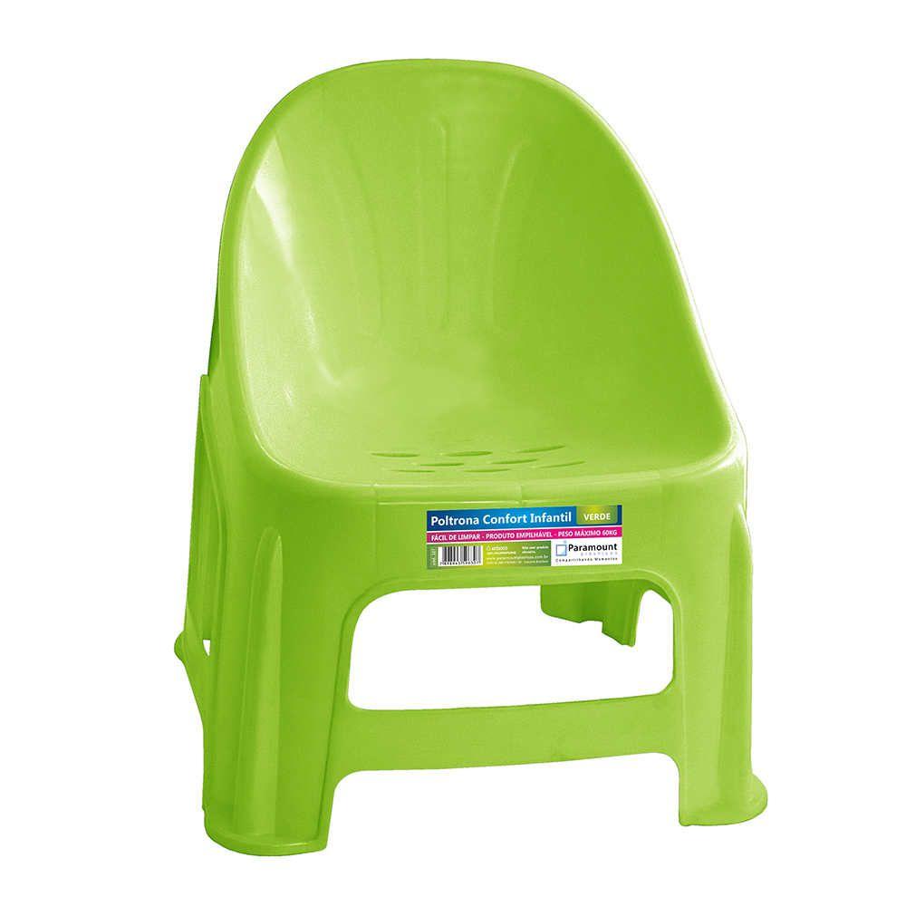 Poltrona Confort Infantil Verde 37X34X42,5Cm Paramount