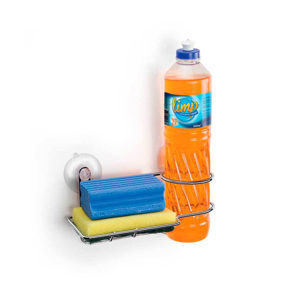 Porta Detergente Bucha Ventosa 1153 Arthi