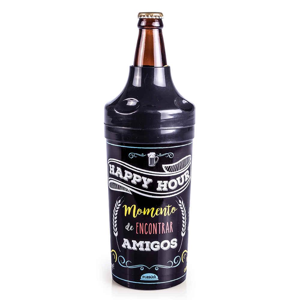 Porta Garrafa Happy H Cerveja 5764 Plasutil
