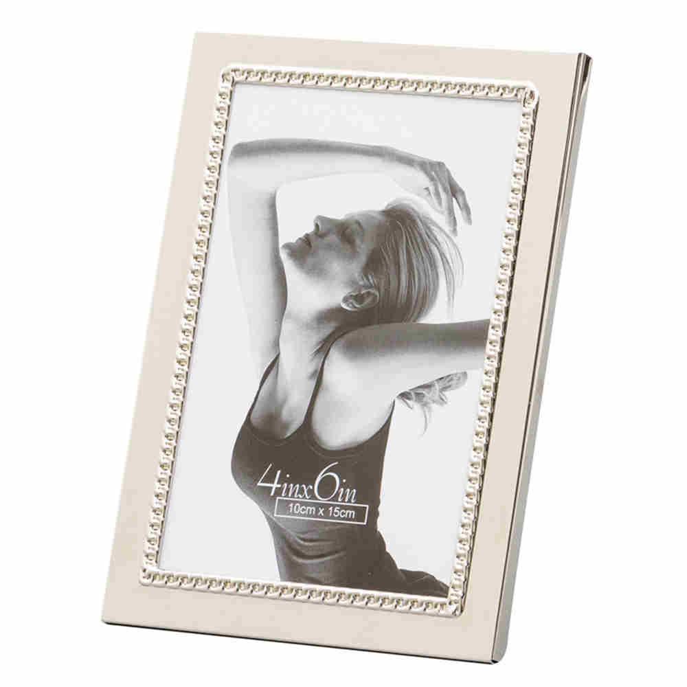Porta Retrato De Aço Niq Little Pearl 20X25Cm 3644 Lyor